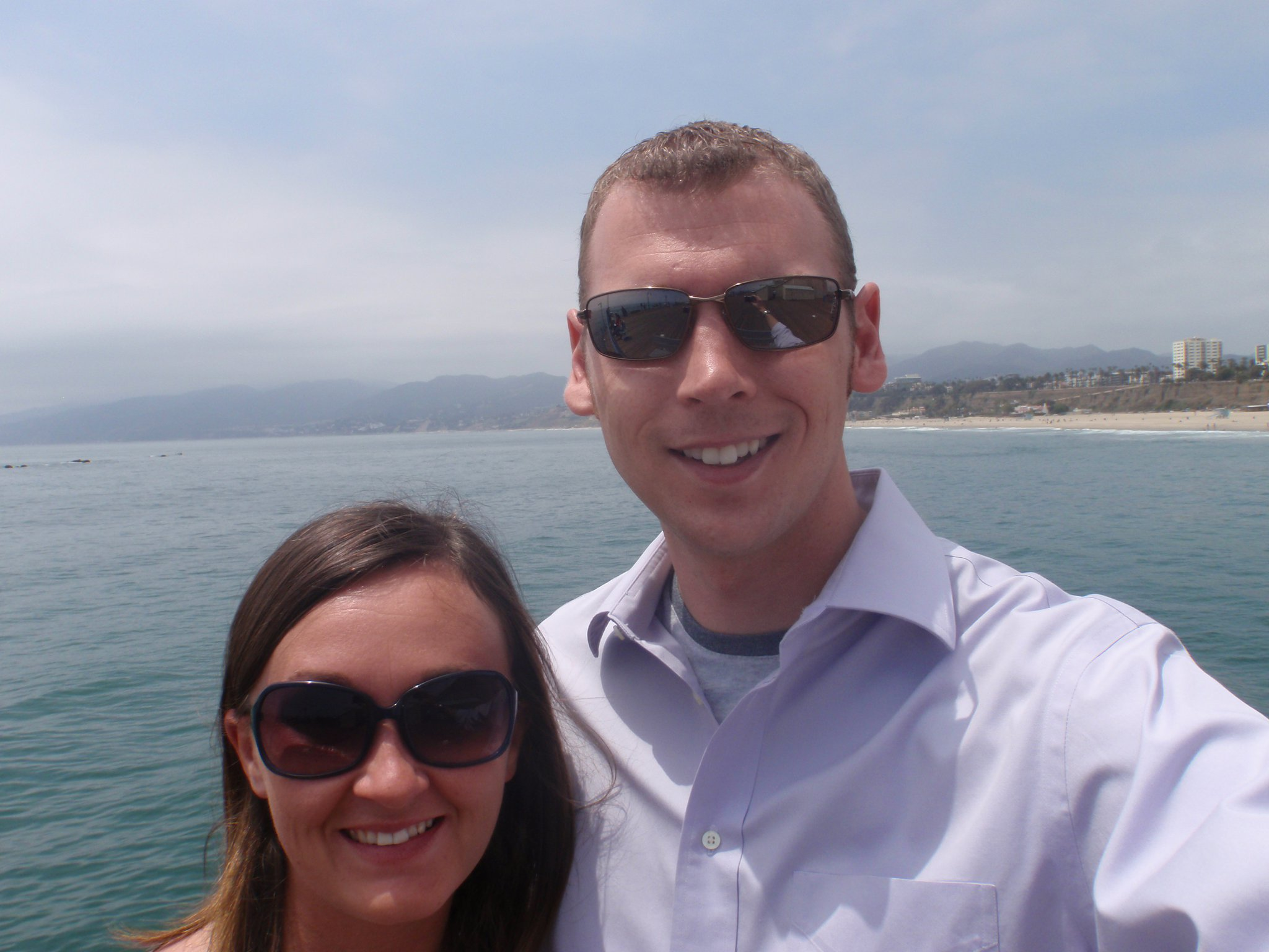 Brightergy Account Controller Tyler Staebell with his fiancee.