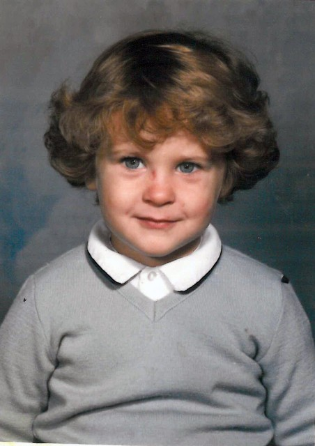 Brightergy Business Development Specialist, Andrew Tate, when he was younger