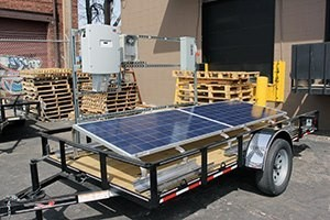horace mobile solar energy demo unit