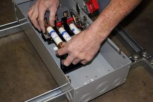 breaker box horace mobile solar energy demo unit