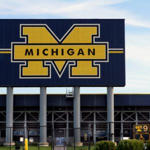 university of michigan football field